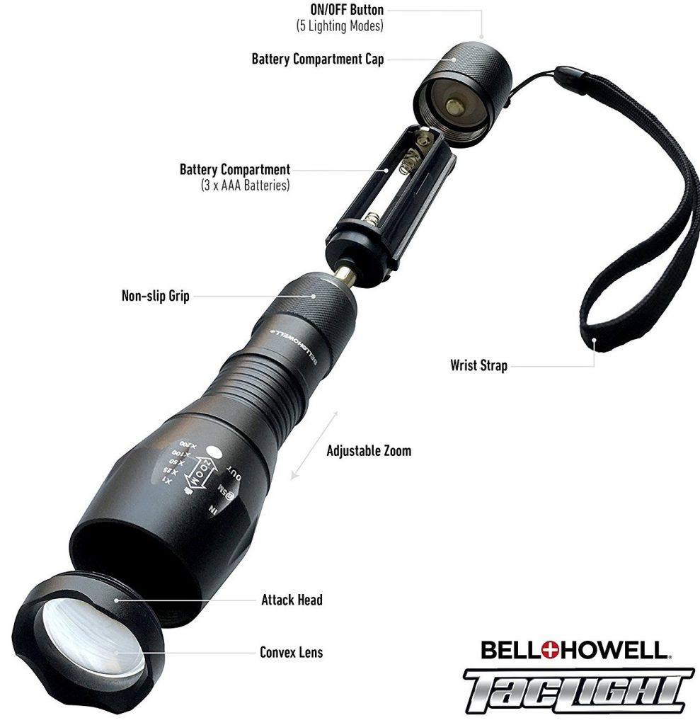 Bell + Howell 1176 Taclight