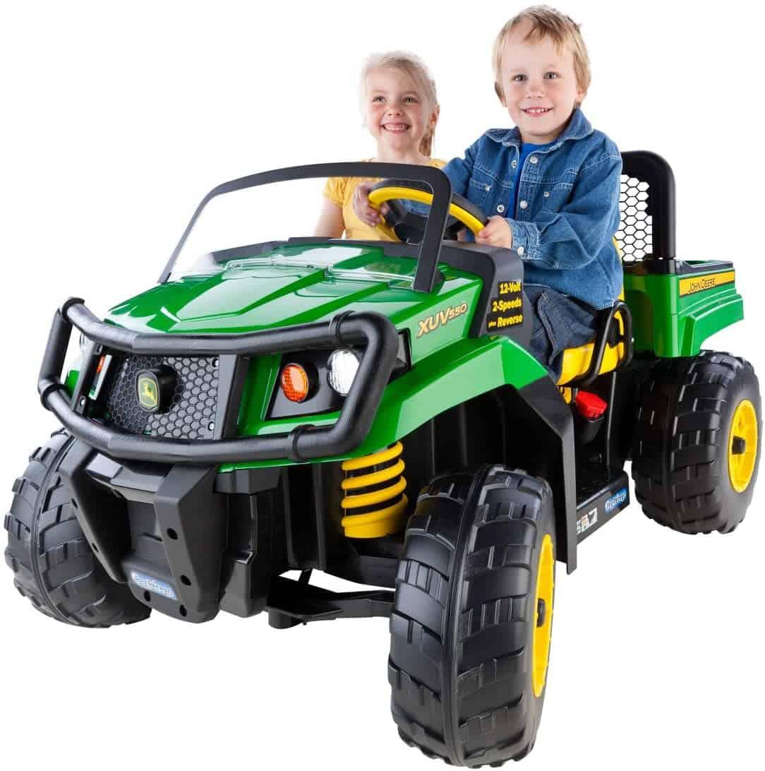 Peg Perego John Deere Gator Xuv Children's (Green)