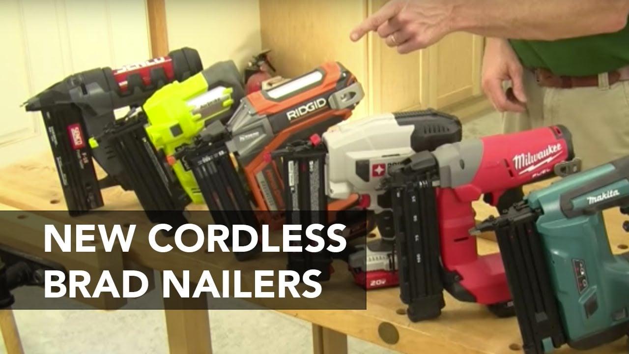 Cordless Brad Nailer