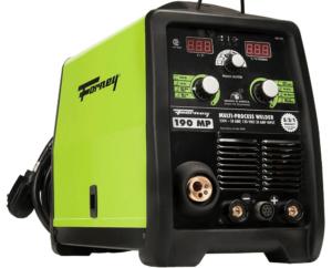 """Forney 190 MP Welder 230-volt or 120-volt. """"3-in-1"""" Multiple Welding Processes - MIG, Stick and TIG."""