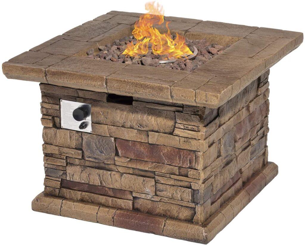 Sunbury Stonecrest Patio Fire Pit Table