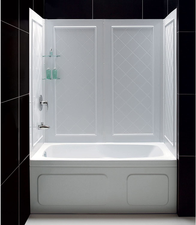DreamLine SHBW-1360603-01 Qwall-Tub and Backwall Kit