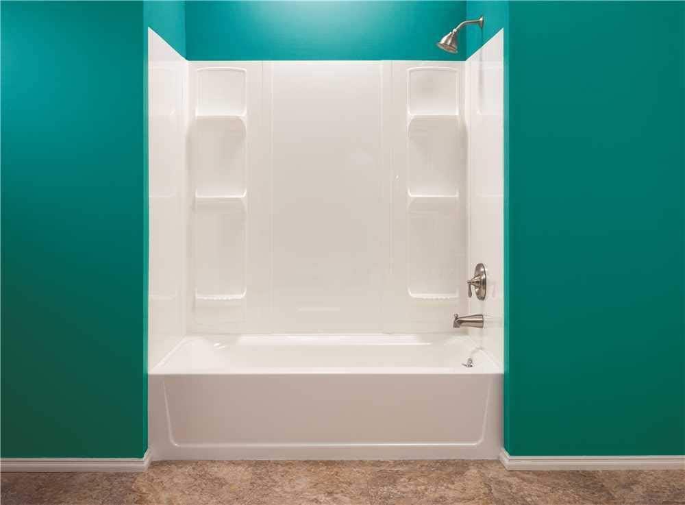 Mustee 56WHT Bathtub Wall Surround
