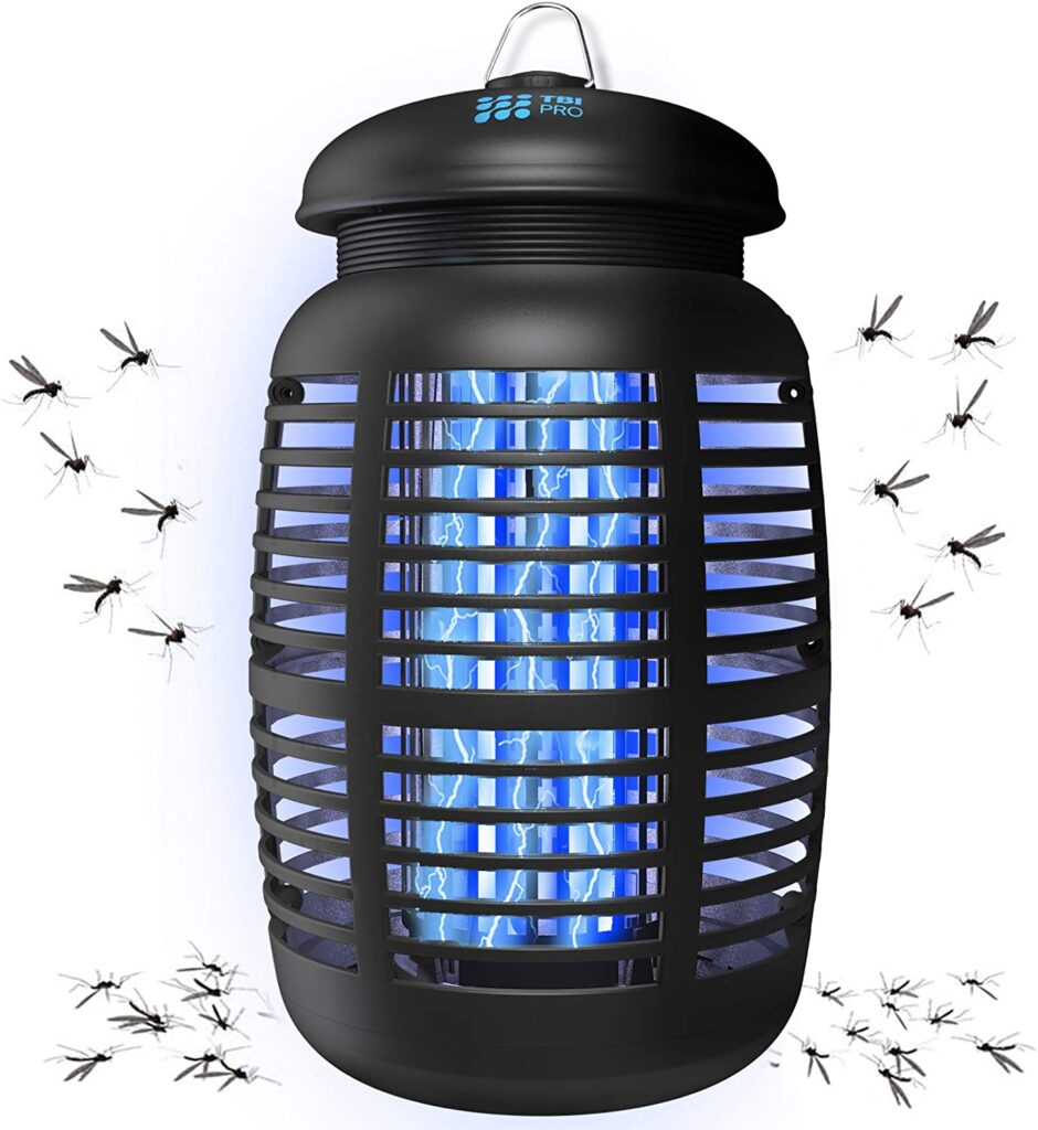 Bug Zapper & Attractant - Effective 4250V Electric Mosquito Zappers Killer