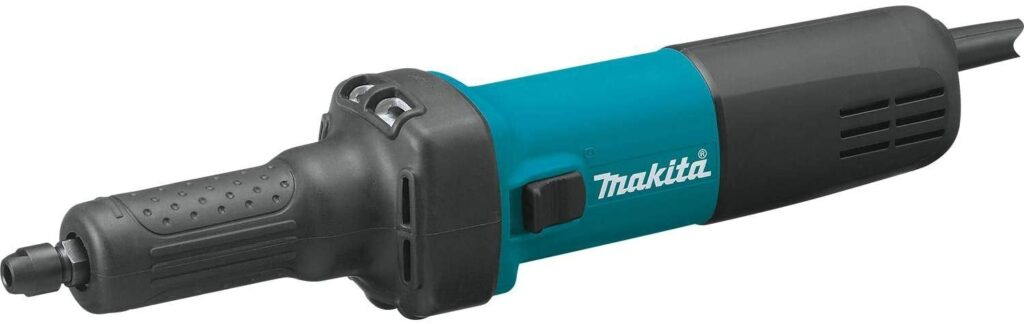 """Makita GD0601 1/4"""" Die Grinder, with AC/DC Switch,Blue"""