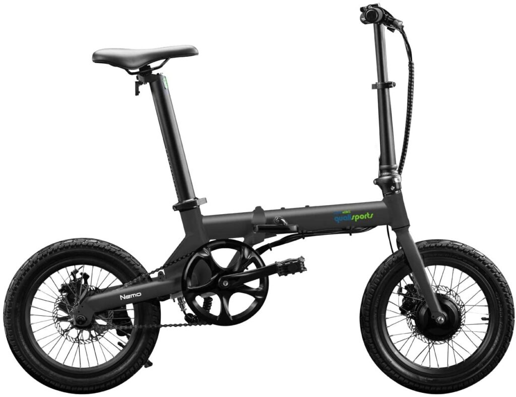 Nemo Folding Electric Bicycle By Qualisports