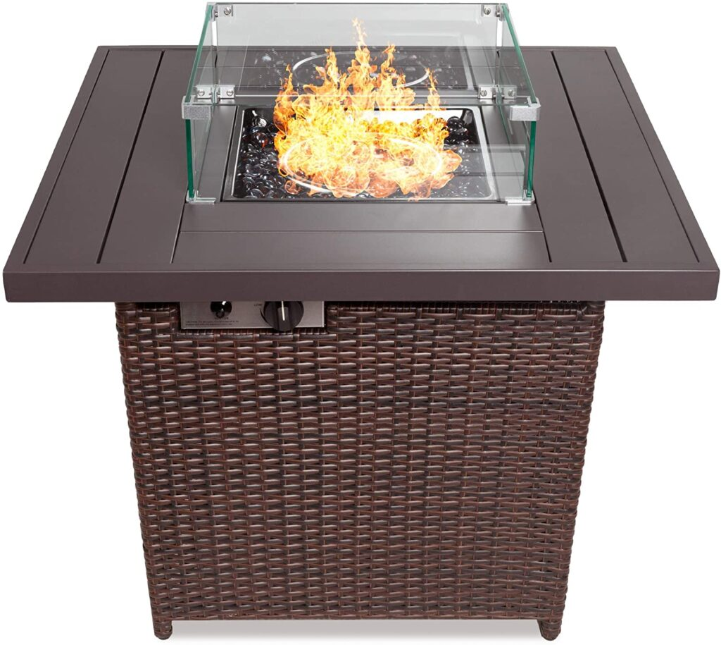 Best Choice 50,000 BTU Propane Firepit Table