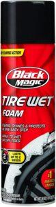Black Magic Tire Wet Foam