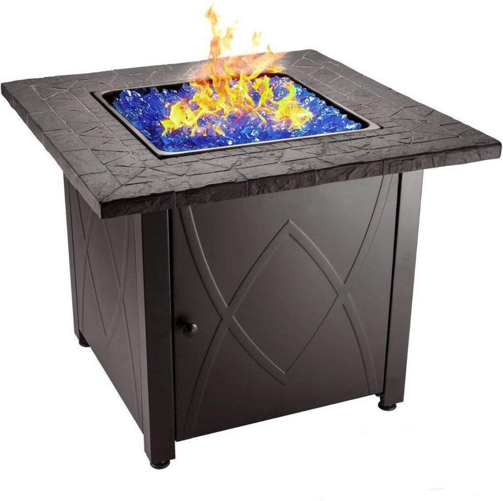 Endless Summer 30 Inch Propane Gas Firepit Table