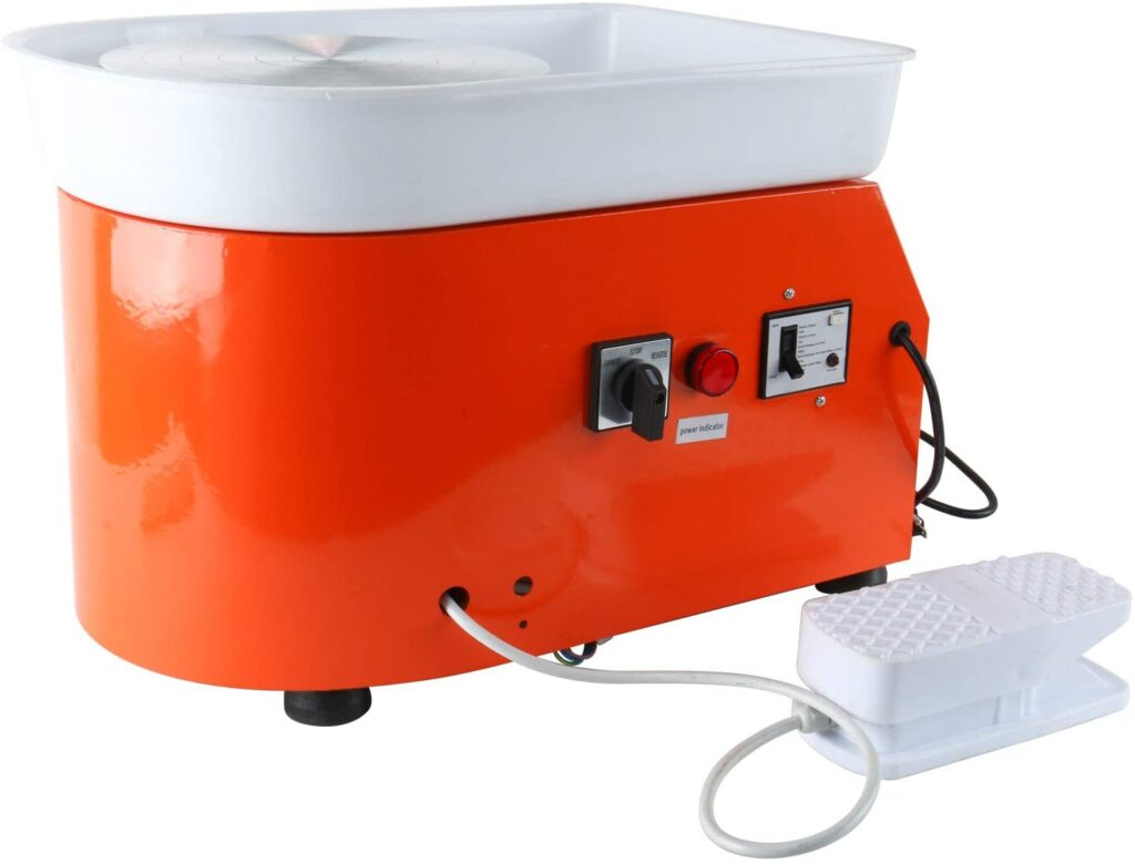 YaeTek 25CM 350W Electric Pottery Wheel Machine