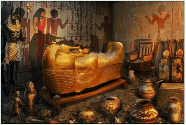 Potter's wheel and Egyptian mythology